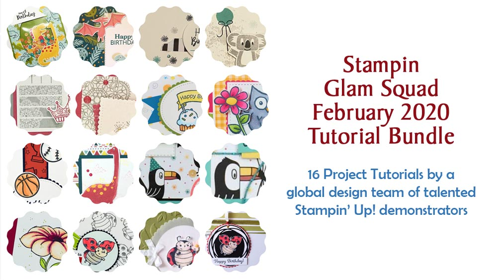 "February 2020 Glam Squad Tutorial Bundle - ""Kids Cards"""