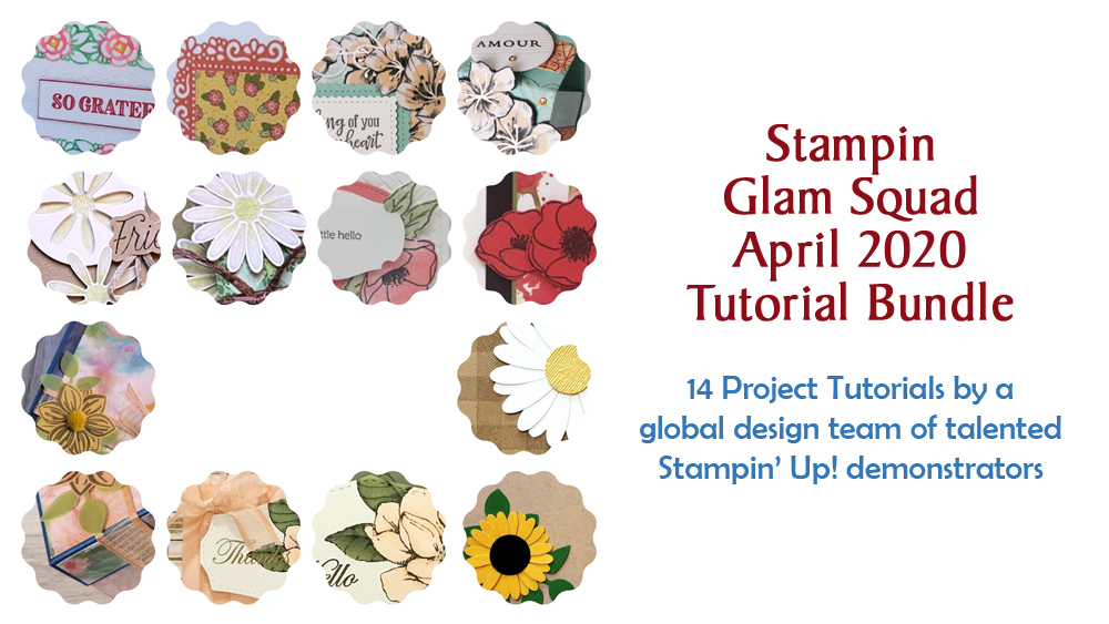 "April 2020 Glam Squad Tutorial Bundle - ""Flowers of the Season"""