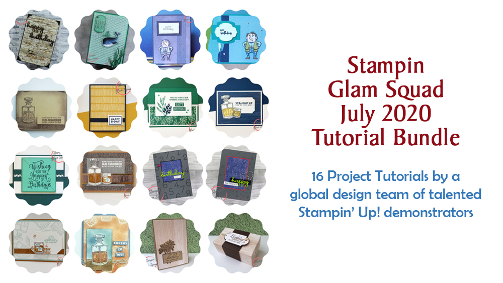 July 2020 Glam Squad Tutorial Bundle -