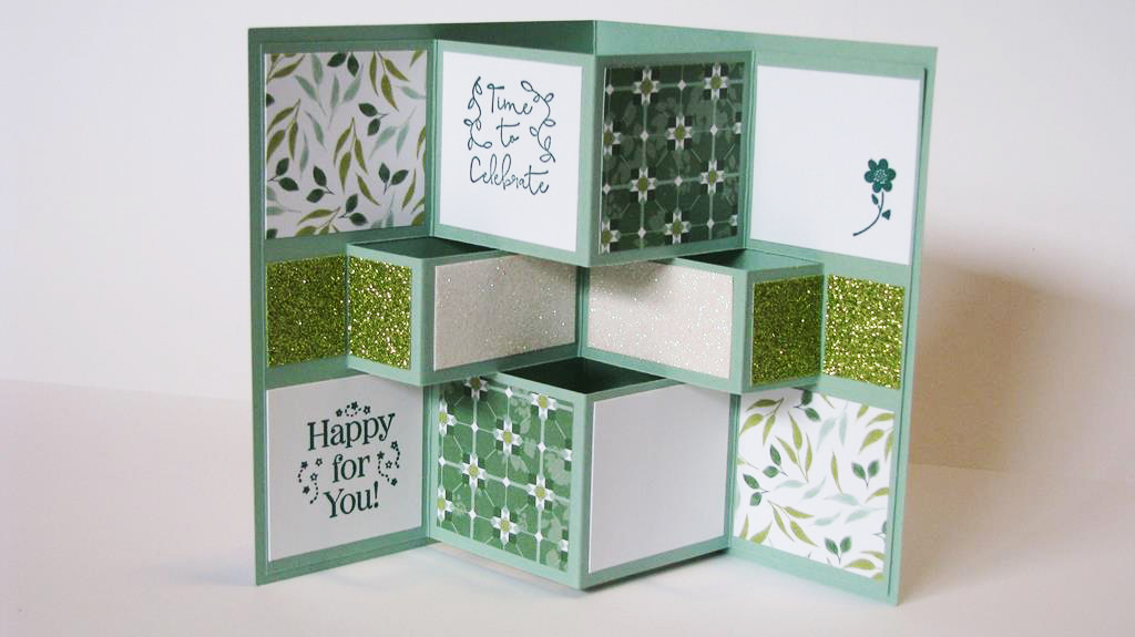 3D Pop-Up Cubes Card Tutorial
