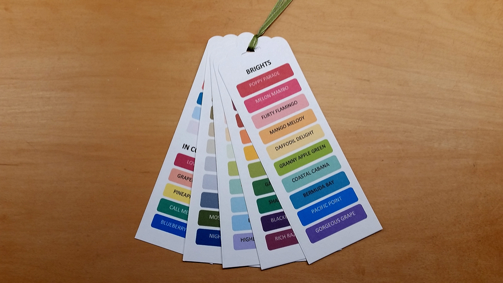 Colour Swatch Set - shipped INTERNATIONAL