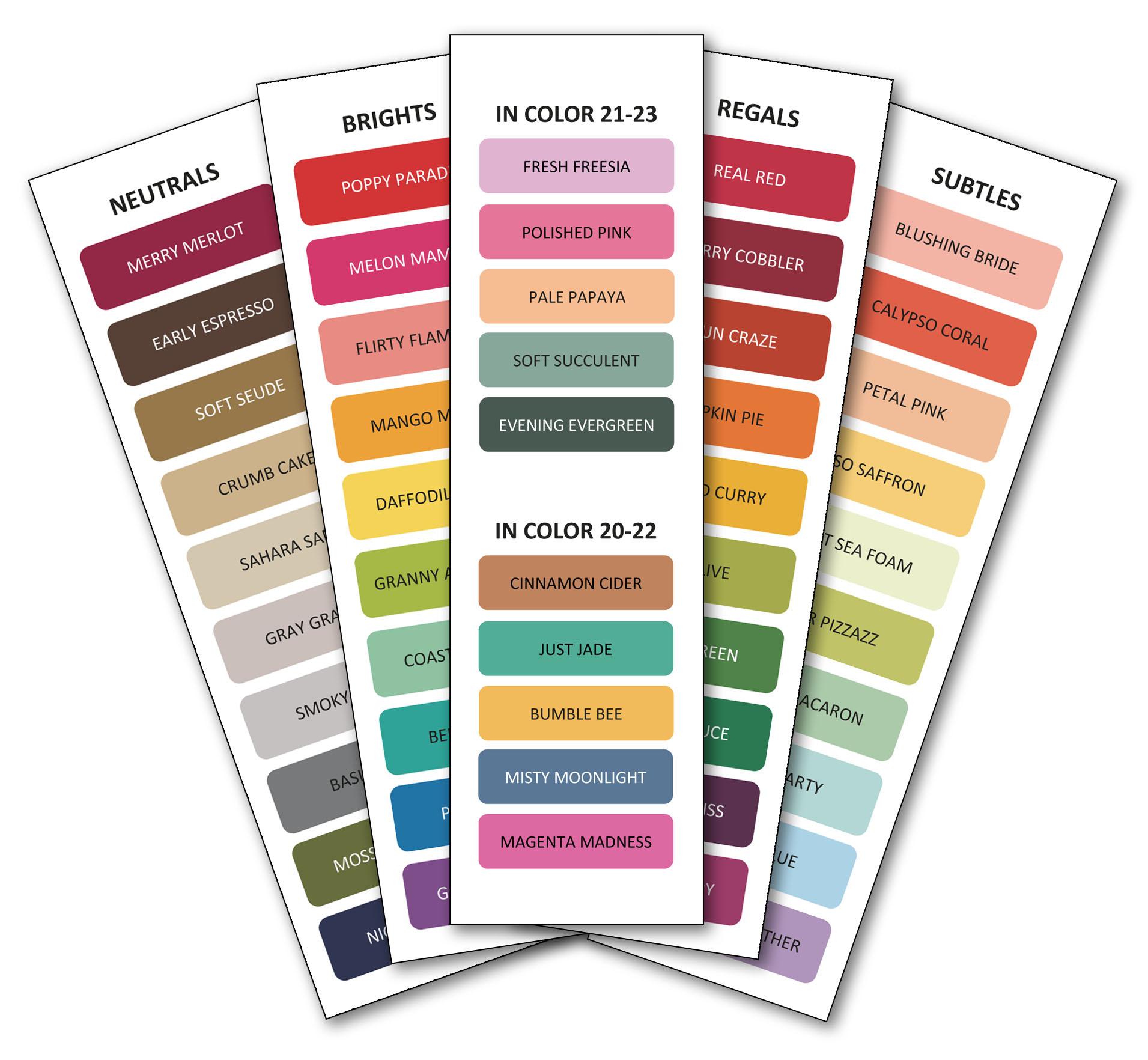 Colour Swatch Set