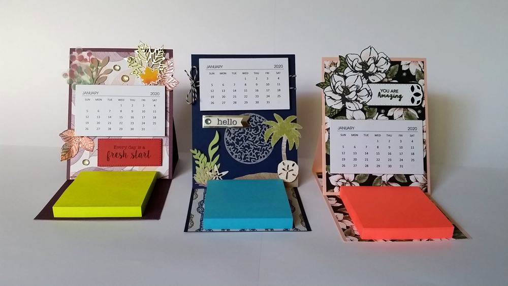 Padded Mini Craft Calendars