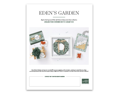 Edens Garden Flyer