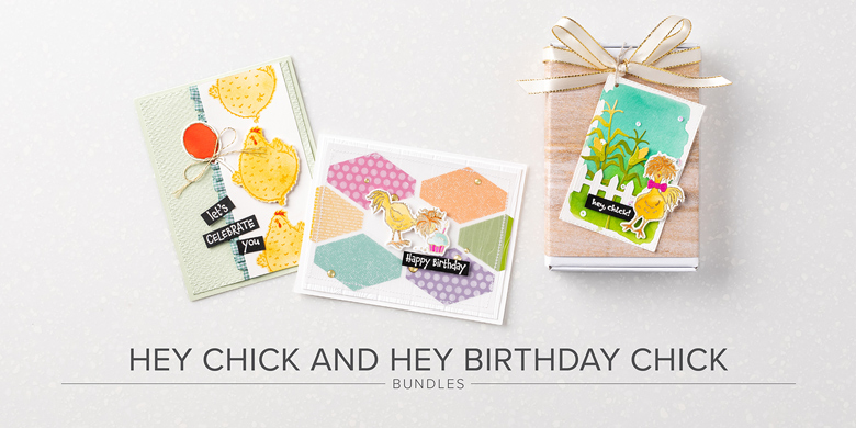 Hey Chick and Hey Birthday Chick Bundles Header Image With Text